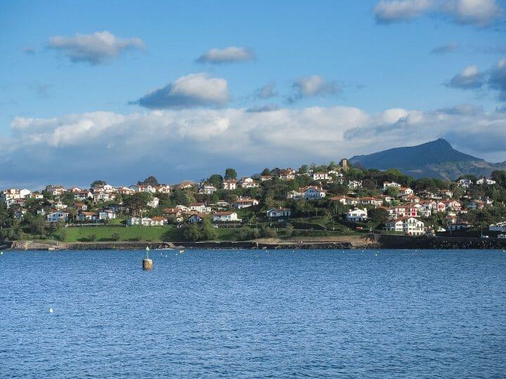 Port de Ciboure, paysage du Pays basque, sud ouest de la France