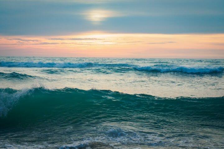 Le porge océan, plage de Gironde, sud ouest de la France