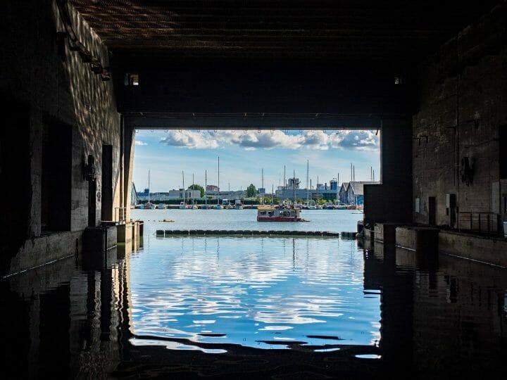 Le base sous-marine, les visites incontournables pour un Week-end à Bordeaux