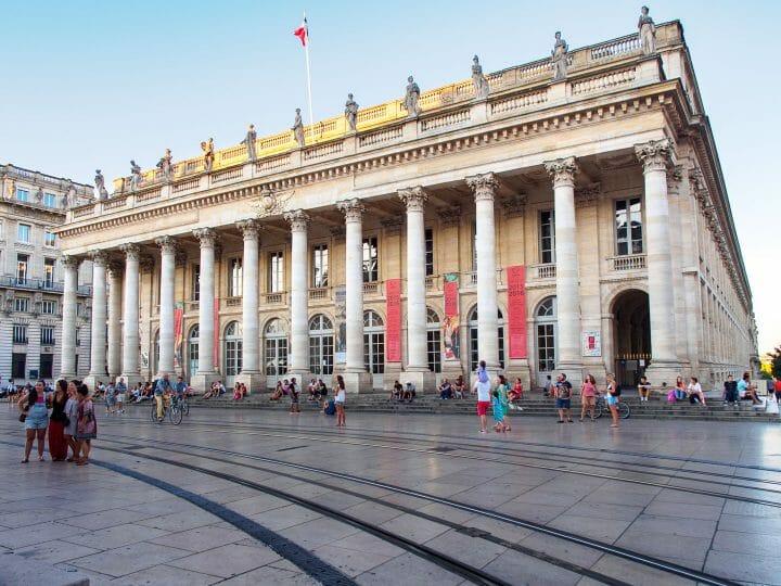 Le grand théâtre, les visites incontournables pour un Week-end à Bordeaux