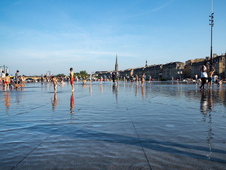 Le miroir d'eau, les visites incontournables pour un Week-end à Bordeaux